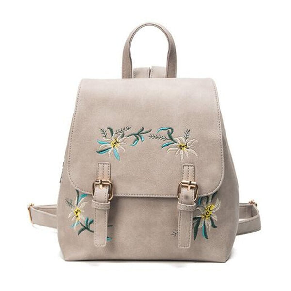 Women's PU Leather Backpack Satchel