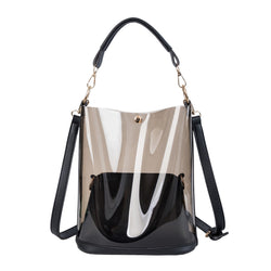 Handbag Women's Transparent Bucket Bag Messenger Bags