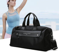 Black Pink Blue Ladies Gym Bag Sports Travel Bag