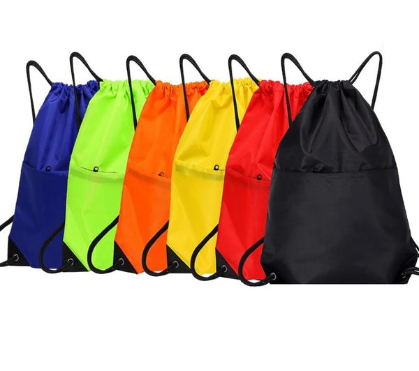 Waterproof Zipper Gym Sport Fitness Bag Racksack