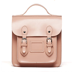 Leather Women's Satchel Backpack
