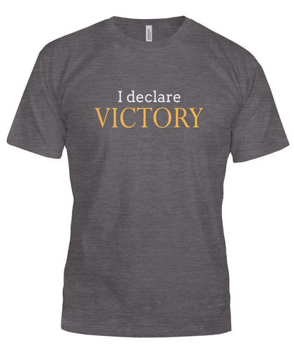 I declare victory