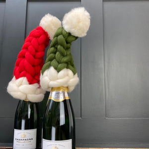 Bottle and Christmas Tree Toppers