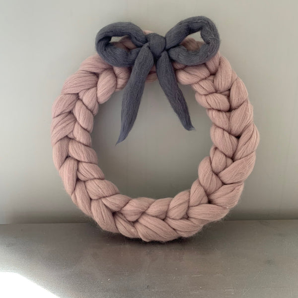 Wreath with bow