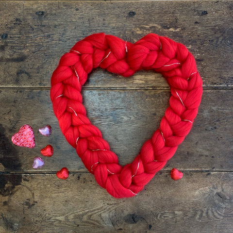 Valentine's Heart Wreath