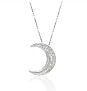 Necklace Bright Moon Silver