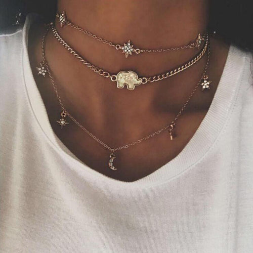 2018 Trendy vintage necklaces
