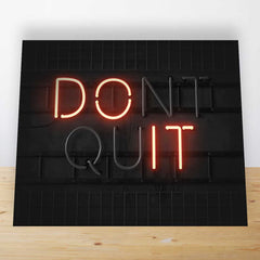 Don't Quit Mini Desk Art