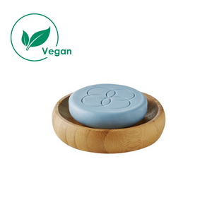 super foodies face cleansing bar met bamboo dish  70 gram