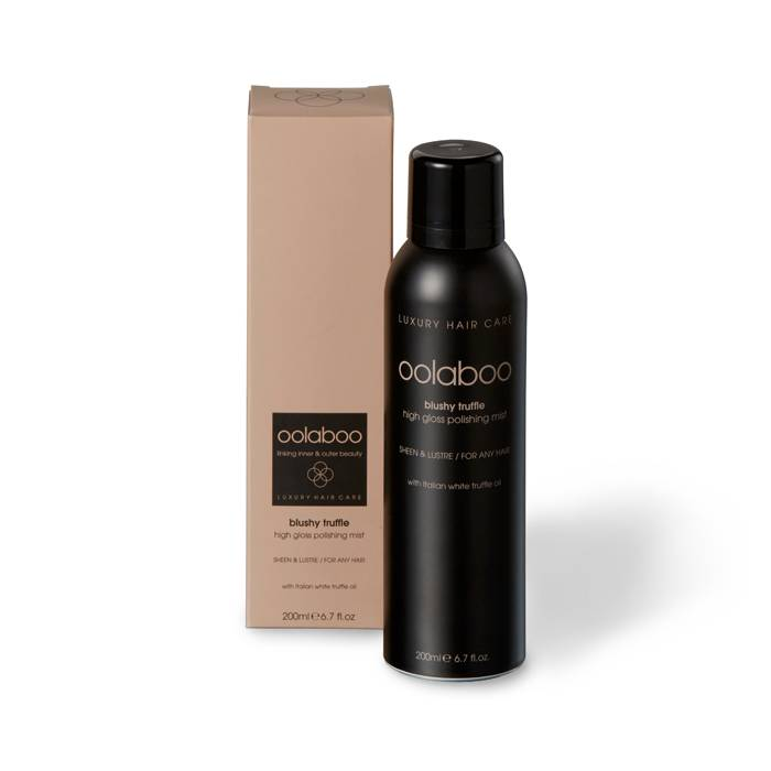 oolaboo blushy truffle polishing mist 200 ml