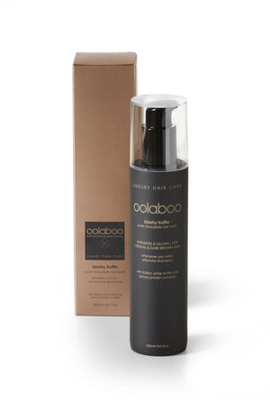 oolaboo blushy truffle chocolate hair bath 250 ml