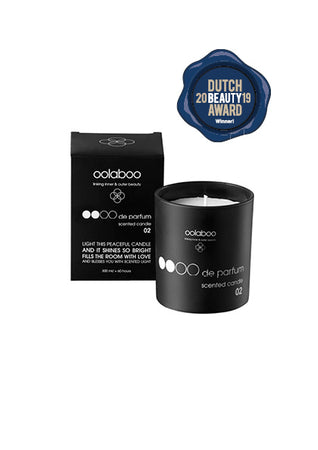 OOOO de parfum scented candle 02 sandalwood 300 ml