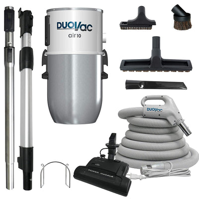 Duovac Air 10 with Upgraded Deluxe Electric Kit