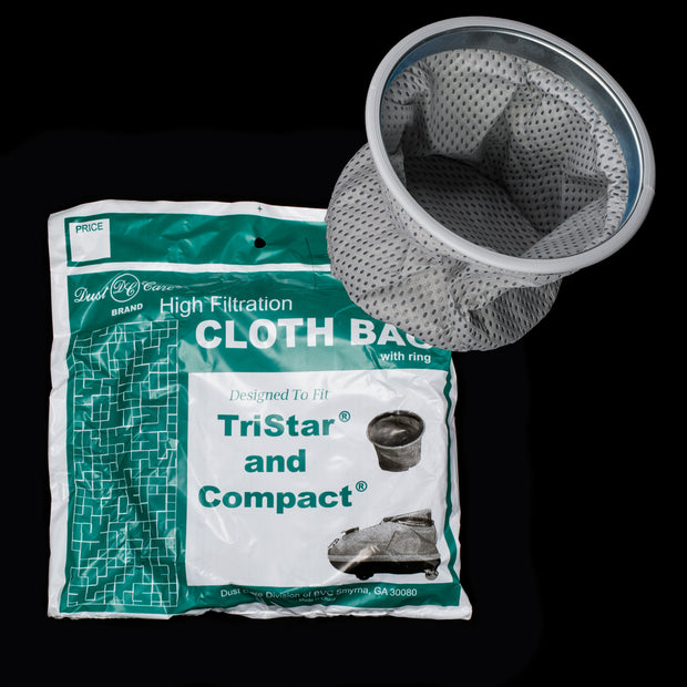 TriStar and Compact High Filtration Cloth Bag