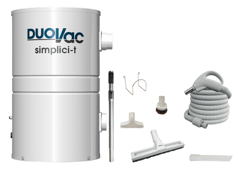 Duovac Simplici-t Central Vacuum Package