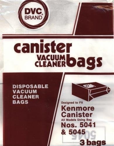 Kenmore Type 5041 & 5045 Canister Bags 3-Pack