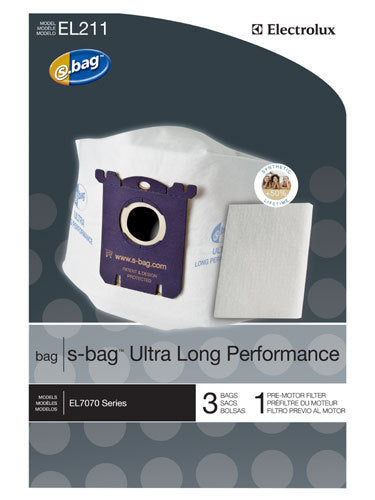 Electrolux s-bag™ Ultra Long Performance vacuum bags