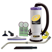 ProTeam Super QuarterVac 6 QT. Backpack Vacuum