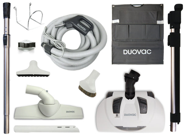 Premium Electric Central Vacuum Kit