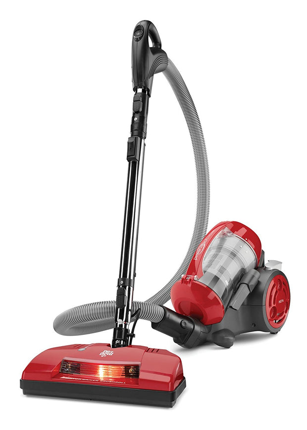 Dirt Devil Power Reach Pet Multi-Cyclonic Bagless Canister Vacuum, SD40035CDI
