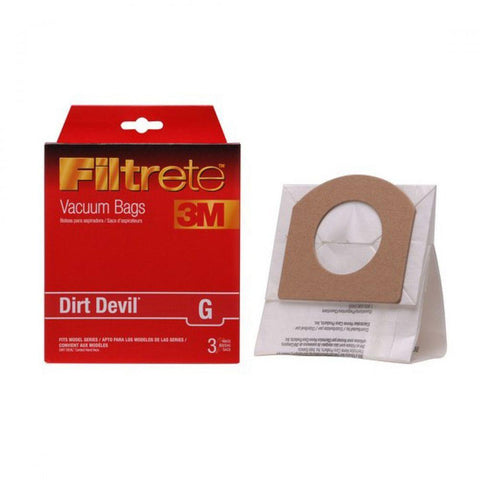Dirt Devil Type G Bags 3-Pack