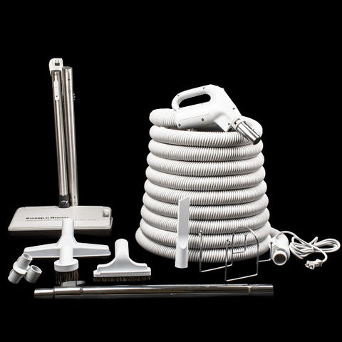 Sweep And Groom Deluxe Central Vacuum Attachment Kit