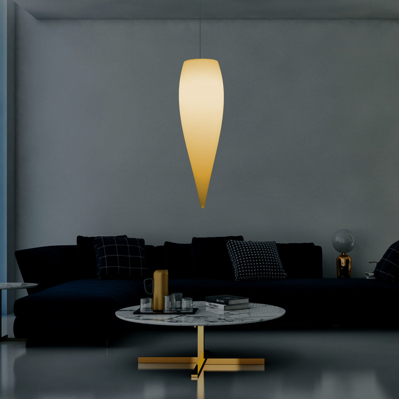 Waterdruppel LED Lamp, Unieke Designer Hanglamp, 800 mm, E27, Warm Wit, Plafondverlichting