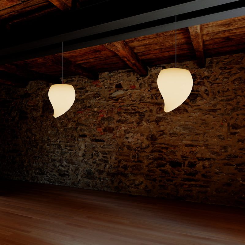 Decoratieve LED E27 Hangende Plafondlamp, Traan, Warm Wit, Sfeerverlichting, Lamp