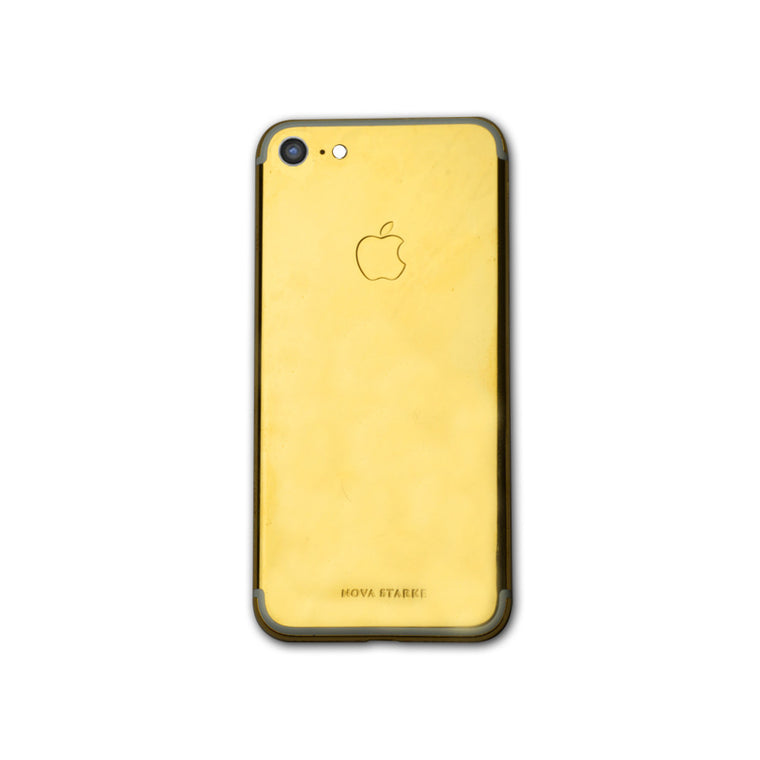 24K Gold Glossy Finish iPhone