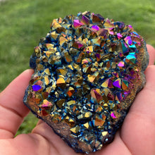 Load image into Gallery viewer, Mia - Rainbow Titanium Quartz Cluster - MOONCHILD PRODUCTS