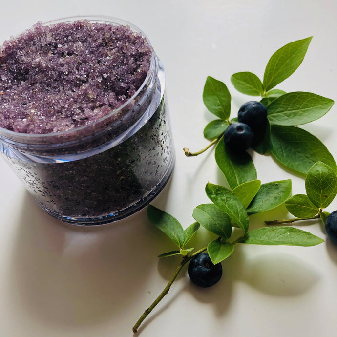 Detoxifying Blueberry Body Polish - MOONCHILD PRODUCTS