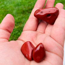 Load image into Gallery viewer, Red Jasper Tumbled Stone - MOONCHILD PRODUCTS
