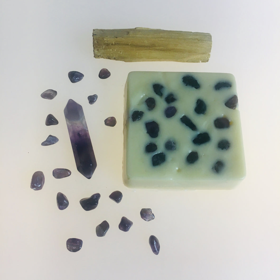 Amethyst Infused Crystal Massage Bar - MOONCHILD PRODUCTS