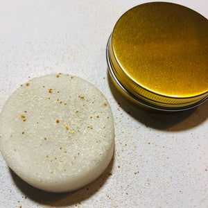 Gold Solid Lotion Body Bar - MOONCHILD PRODUCTS