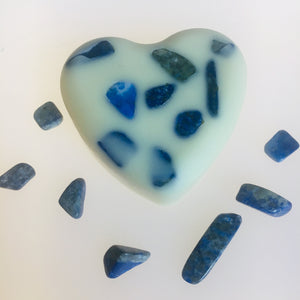 Lapis Lazuli Infused Crystal Massage Bar - MOONCHILD PRODUCTS