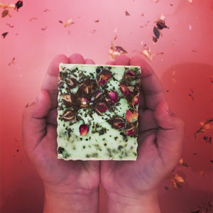 Rose and Green Tea Bar - MOONCHILD PRODUCTS