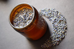 Lavender Soy Candle - MOONCHILD PRODUCTS