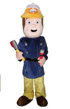 Load image into Gallery viewer, FIREMAN SAM Mascot Costume Hire