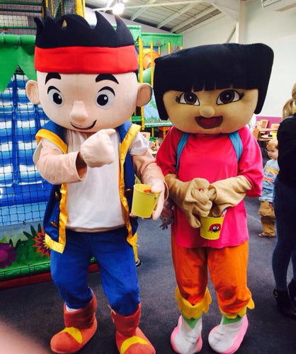 DORA THE EXPLORER Mascot Costume Hire