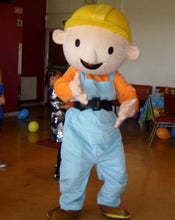 Load image into Gallery viewer, BOB THE BUILDER Mascot Fancy Dress Costume HIre