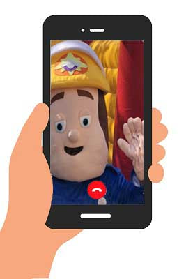 FIREMAN SAM VIDEO (generic happy birthday) INSTANT DOWNLOAD