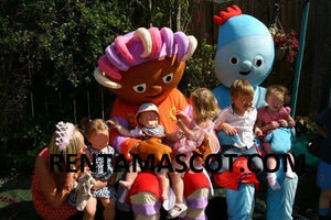 Daisy Night Garden Mascot Fancy Dress Costume Hire