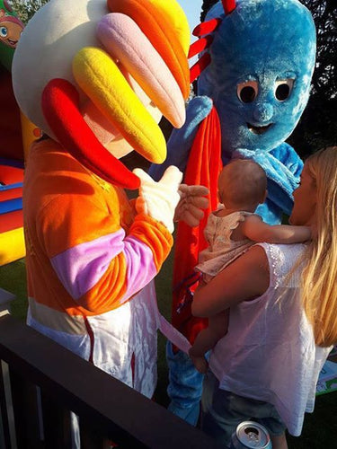 IGGLE PIGGLE Delux Mascot Fancy Dress Hire