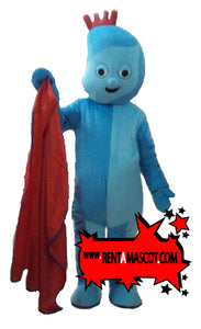 GIGGLE night garden mascot fancy dress costume hire
