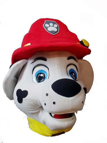 SUPER PLUSH - PAW PATROL CHASE / MARSHALL Mascot Fancy Dress Costume Hire