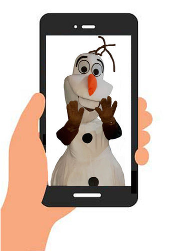 OLAF VIDEO (generic happy birthday) INSTANT DOWNLOAD
