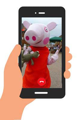 PIG VIDEO (generic happy birthday) INSTANT DOWNLOAD