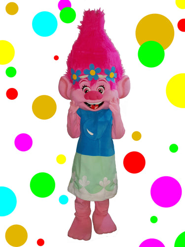 TROLLS POPPY - Mascot Fancy Dress Character Costume hire