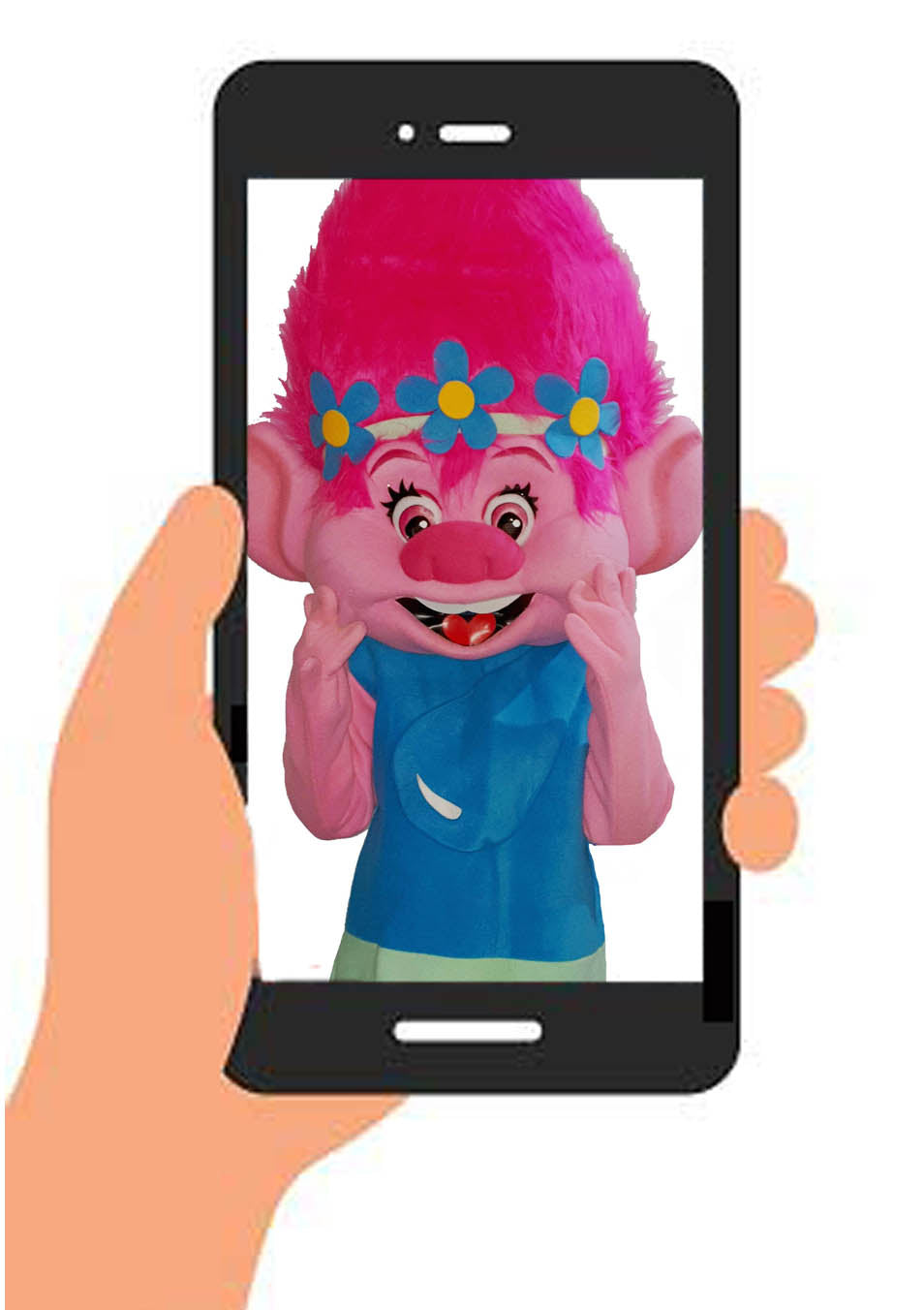 POPPY TROLL VIDEO (generic happy birthday) INSTANT DOWNLOAD