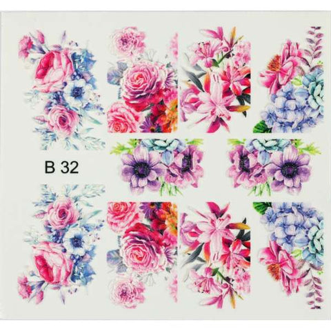 BB 3D Effect nail sticker (B32)